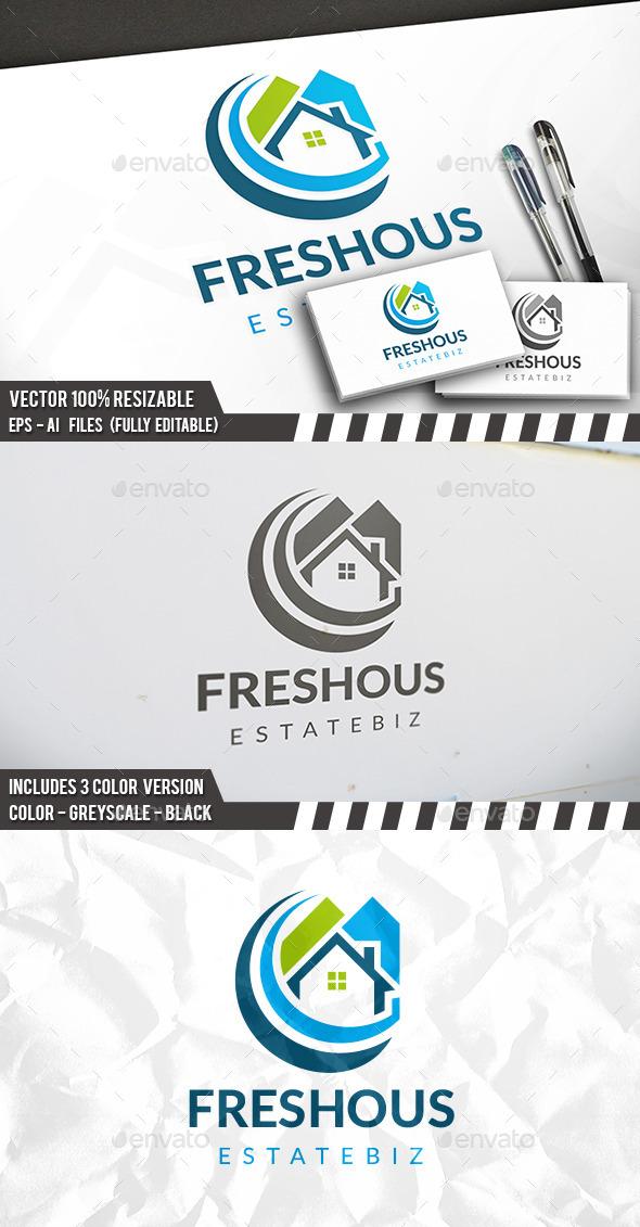 Real Estate Clean Logo