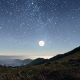 Starry Night In The Mountains - VideoHive Item for Sale
