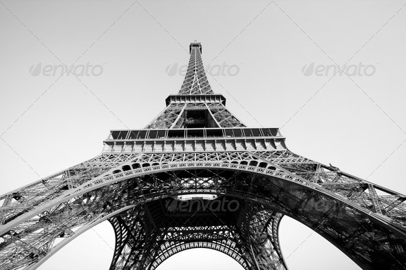 Eiffel tower - Stock Photo - Images