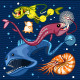 Fish Of The Deep Blue Sea Collection Set 02 - GraphicRiver Item for Sale