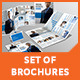 Set of Brochures / Stationery 02 - GraphicRiver Item for Sale