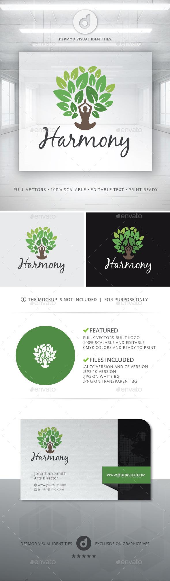 Harmony Logo - Symbols Logo Templates