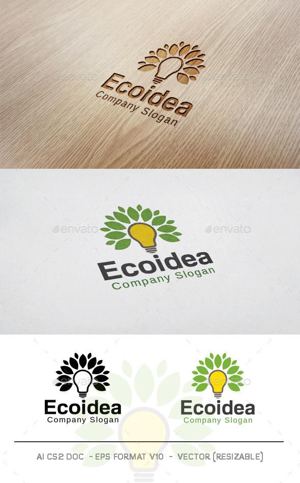 Eco Idea Logo - Symbols Logo Templates