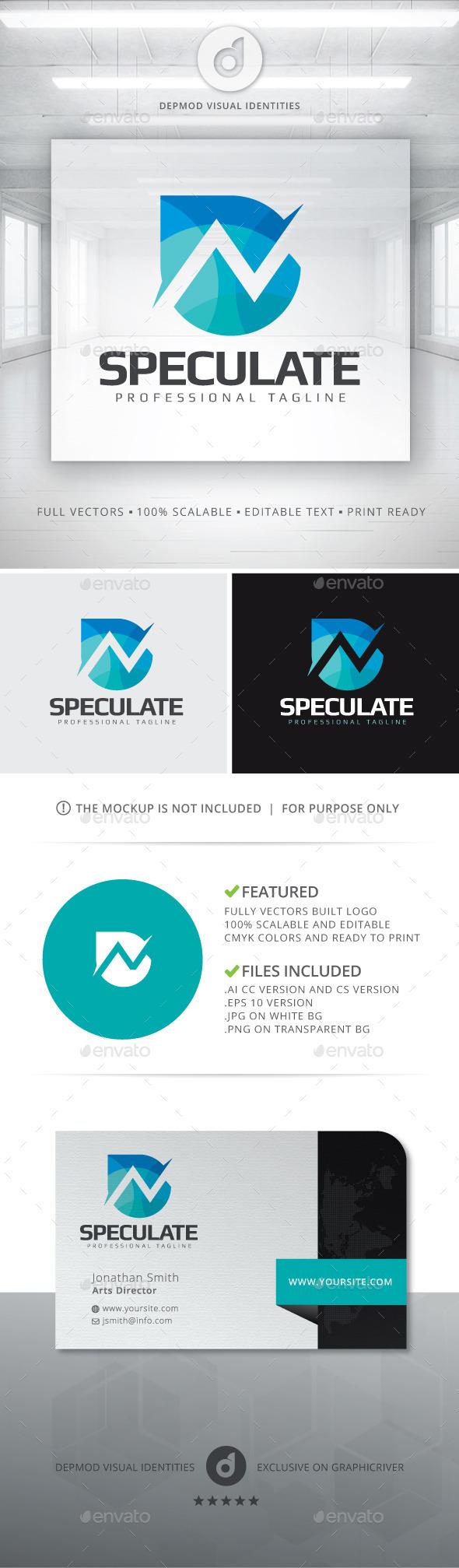 Speculate Logo - Symbols Logo Templates