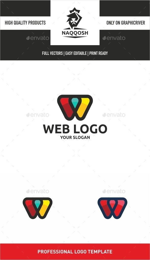 Web Logo - Letters Logo Templates