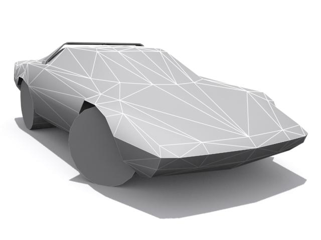 Lancia Stratos - Base - 3DOcean Item for Sale