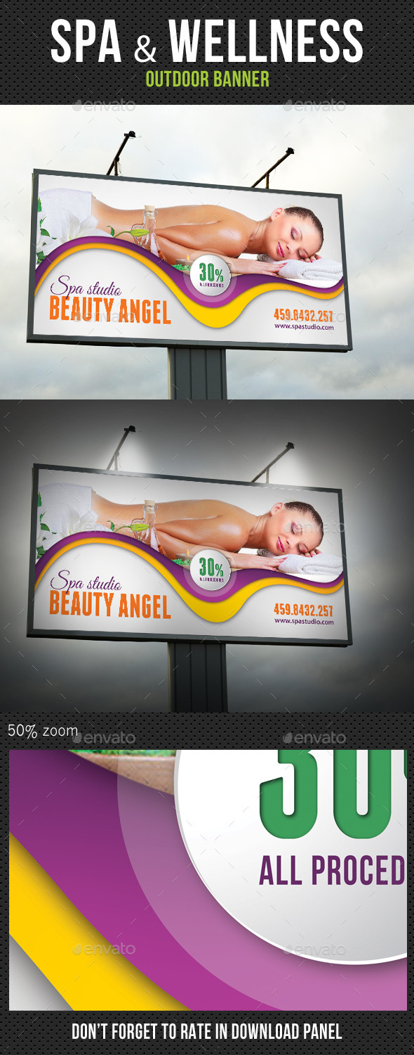 Spa Studio Outdoor Banner 11