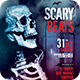 Scary Beats Flyer - GraphicRiver Item for Sale