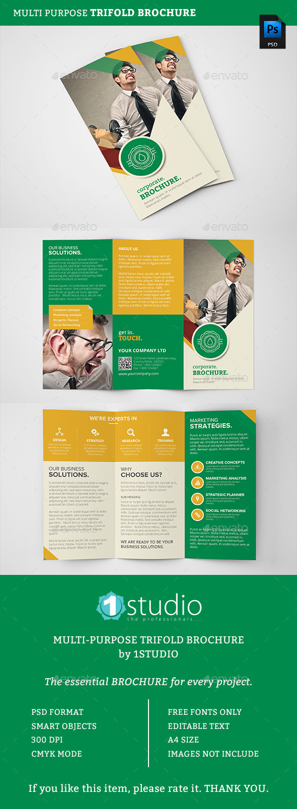 Corporate Trifold Brochure 08