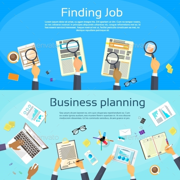 Business Planning Searching for Job - Concepts Business