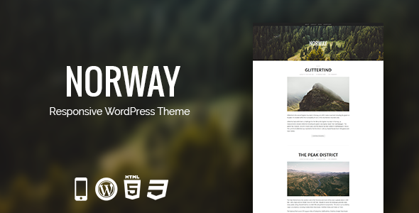 Norway - Responsive WordPress News, Magazine, Blog