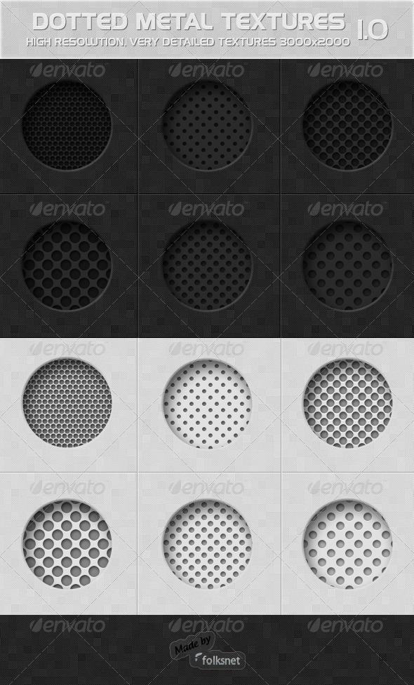 Dotted Metal 1.0 - Metal Textures