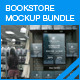 Bookstore Mock-up Bundle 01 - GraphicRiver Item for Sale