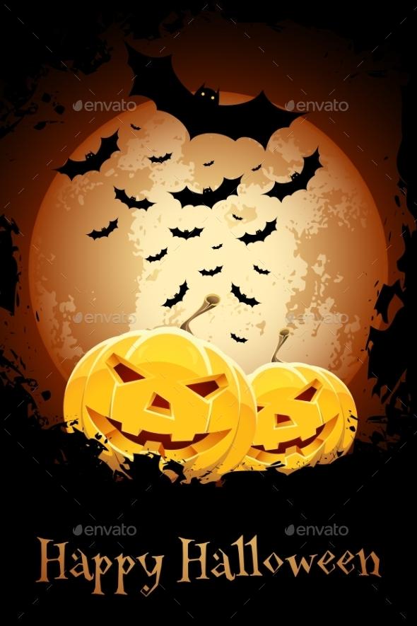 Happy Halloween Poster - Halloween Seasons/Holidays