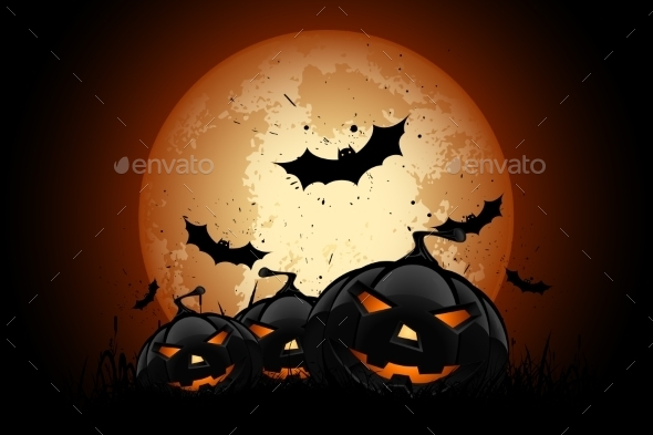 Happy Halloween Poster - Halloween Seasons/Holidays