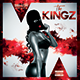 The Kingz | Mixtape Tape Album CD Cover Template - GraphicRiver Item for Sale