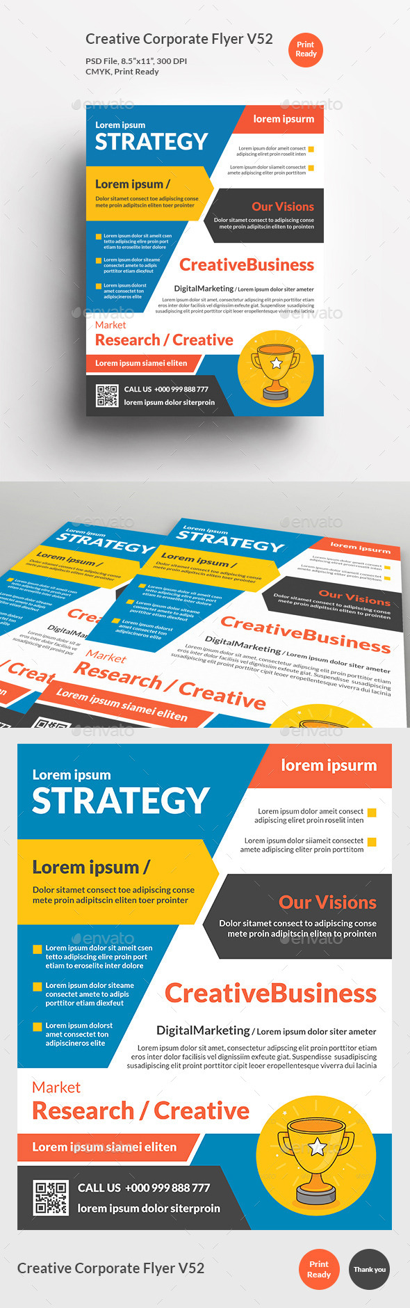 Creative Corporate Flyer V52 - Corporate Flyers