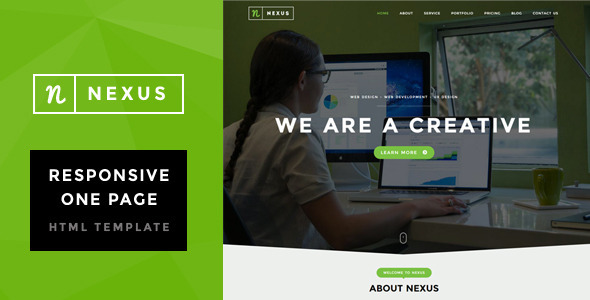 Nexus – Onepage Multipurpose Template