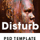 Disturb - Intense Distortion Effect Photo Template - GraphicRiver Item for Sale