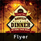 Harvest Dinner Flyer  - GraphicRiver Item for Sale