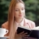 Reading And Coffee Concept - VideoHive Item for Sale