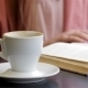 Book And a Cup Of Coffee On The Table - VideoHive Item for Sale