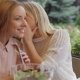 Girls Whispering In The Cafe - VideoHive Item for Sale
