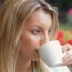 Business Woman Drinking Coffee In a Cafe - VideoHive Item for Sale