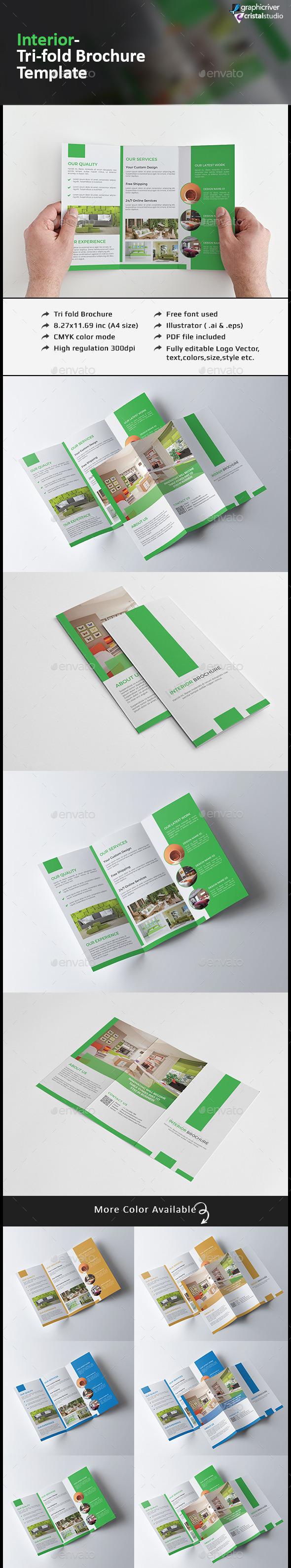 Tri-fold Interior Brochure
