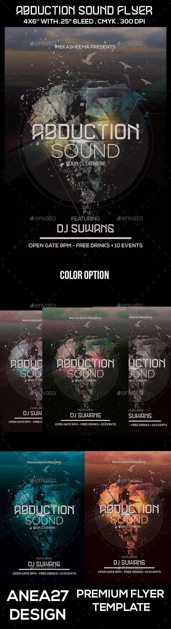 Abduction Sound Flyer