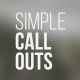 Simple Call-Outs - VideoHive Item for Sale
