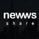 Newws Share - News & Magazine App - UI - GraphicRiver Item for Sale
