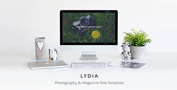 Lydia – Photography & Magazine Site Template