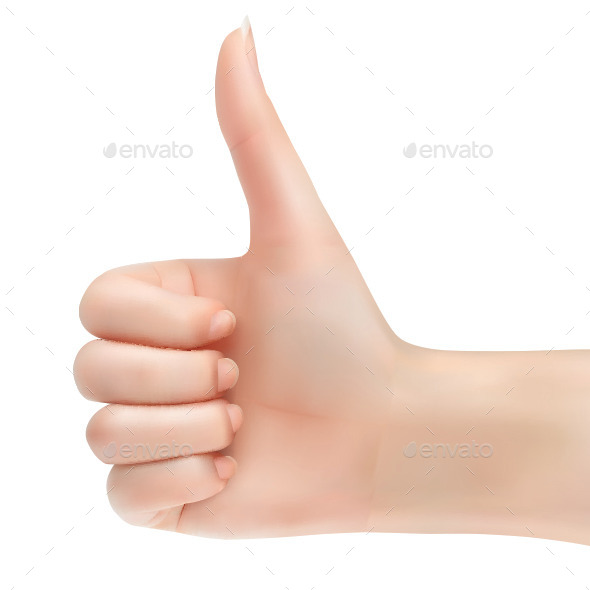 Thumbs Up - People Characters