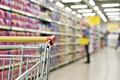 Cart buyer in supermarket - PhotoDune Item for Sale