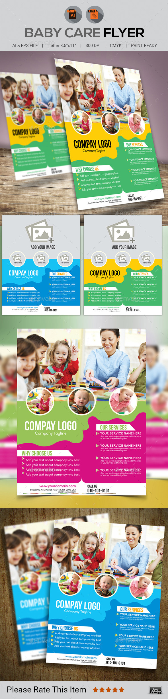 Baby Care Flyer - Corporate Flyers