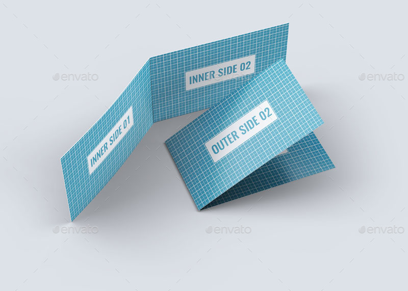 Folded business card mock up by l5design graphicriver folded business card mock upg colourmoves