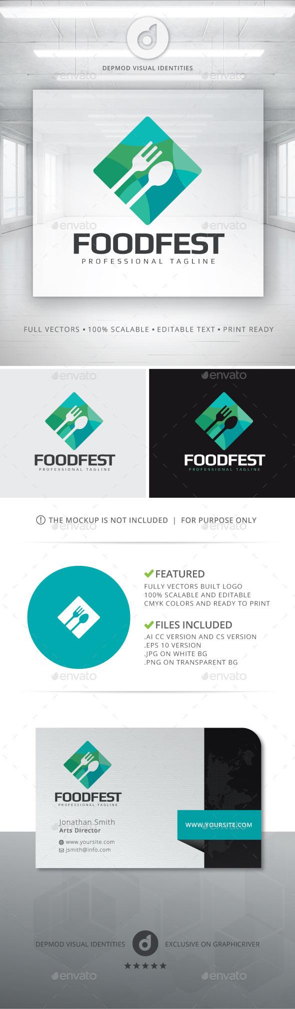 Food Fest Logo