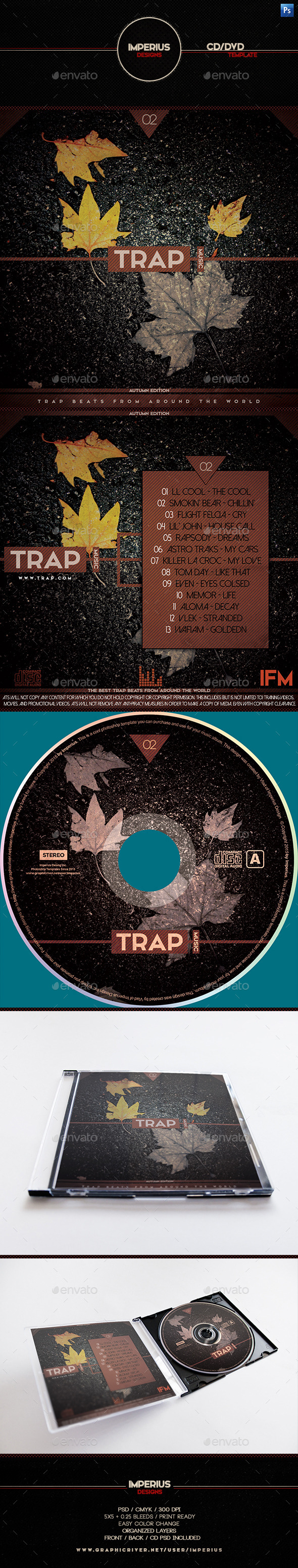 Trap V2 CD DVD Cover