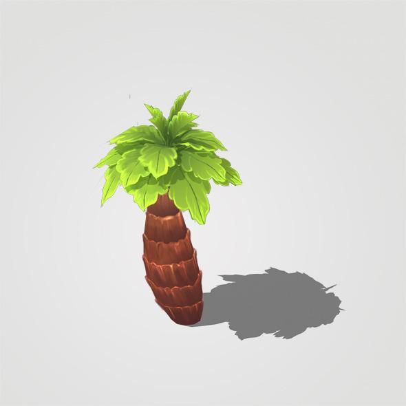 Plam Tree-v1 - 3DOcean Item for Sale
