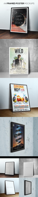 Framed Poster Mockups