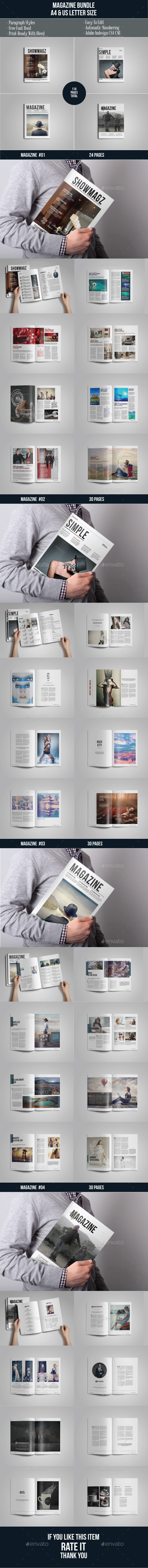 Multipurpose Magazine Bundle Vol 01