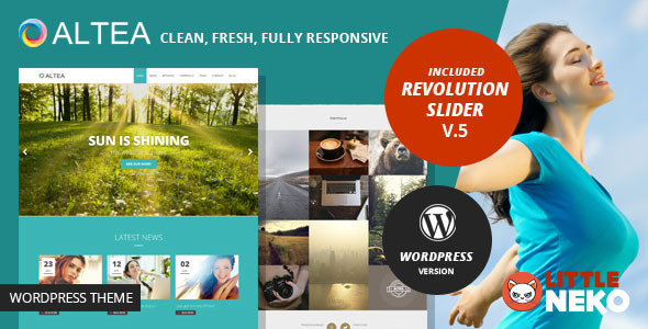 Altea | One Page Responsive WordPress Theme