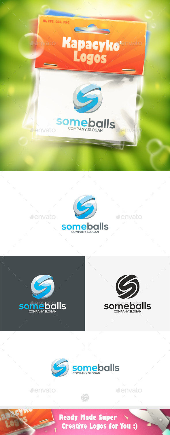Some Balls Logo - Letters Logo Templates