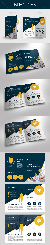 Corporate Bi- Fold Brochure - Corporate Brochures