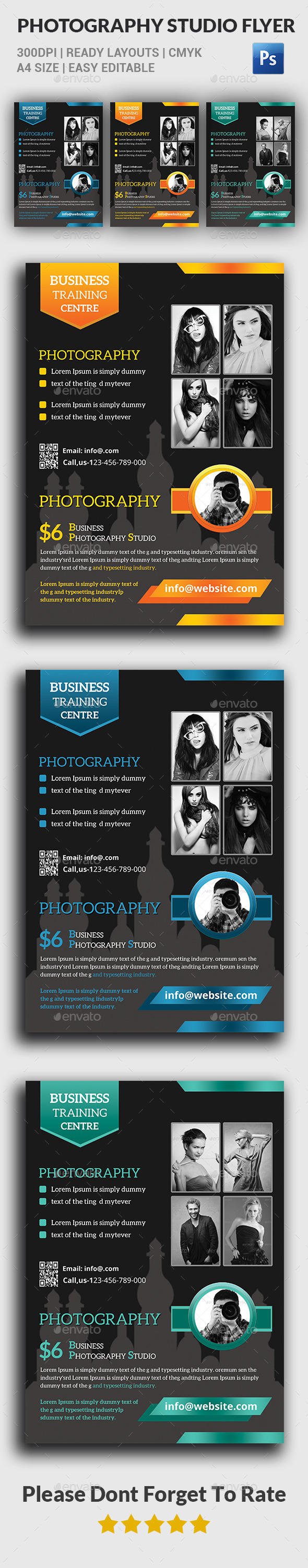 Photography Studio Flyer - Corporate Flyers