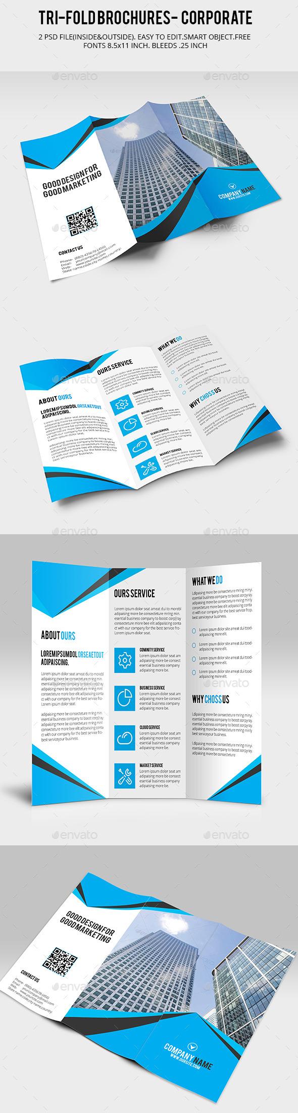 Corporate Tri-Fold Brochure V01 - Corporate Brochures