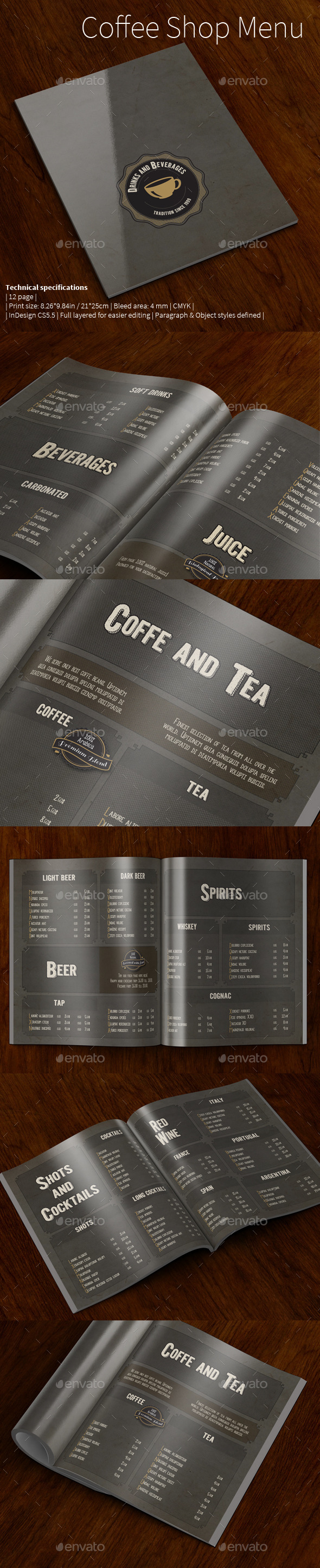 Coffee Shop Menu vol.2