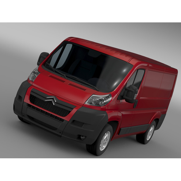 Citroen Jumper 250 L1H1 2006-2014 - 3DOcean Item for Sale