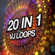 Magic Particles VJ Loops Pack - VideoHive Item for Sale